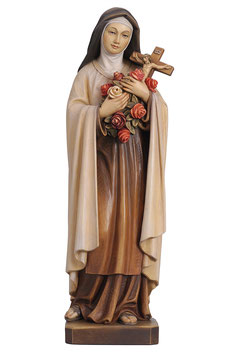Saint Theresa of Lisieux woodcarving
