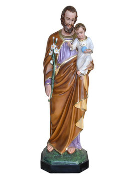 Saint Joseph statue cm. 158