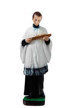 Saint Aloysius Gonzaga statue cm. 40