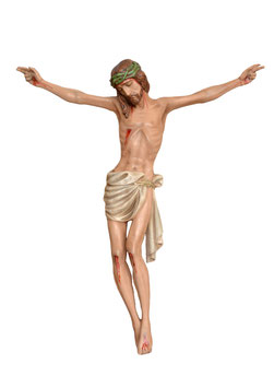 Body of Christ resin statue cm. 70