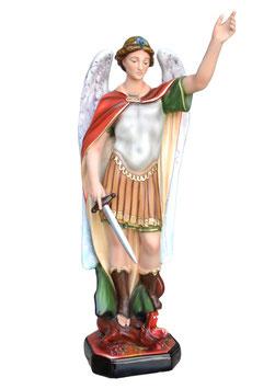Saint Michael statue cm. 63