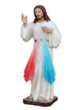 Jesus divine mercy resin statue cm. 50