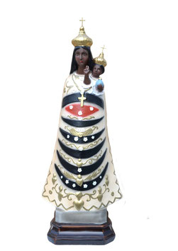 Our Lady of Loreto resin  statue cm. 55
