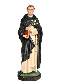 Saint Dominic of Guzman statue cm. 82