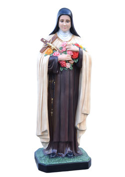 Saint Therese of Lisieux statue cm. 160