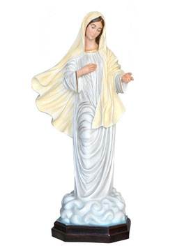 Our Lady of Medjugorje statue cm. 130