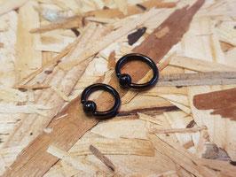 Klemmring schwarz 1,6mm