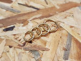 Segmentring gold, 1,2mm