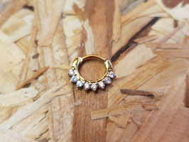 Septum clicker gold
