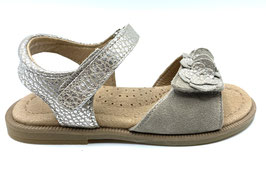 clic! Sandale taupe-silber