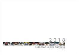 Subway Photo Calendar 2018 (high quality print)