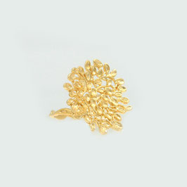 LEAVES OPEN RING - GOLD