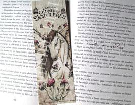 """marque page """"licorne des bois"""""""