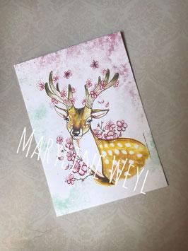 """Carte postale """"Cerfeuille"""""""