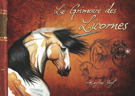 """""""le grimoire des licornes"""" livre fantastique"""