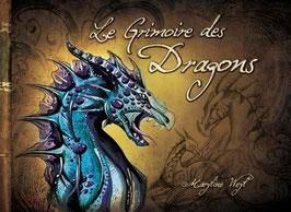 """""""le grimoire des dragons"""" livre fantastique"""