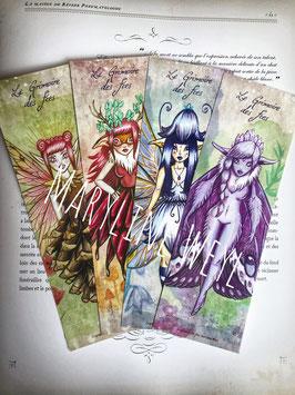 4 marque page fées