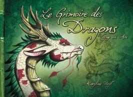 """""""le grimoire des dragons, voyage en Asie"""" livre fantastique"""