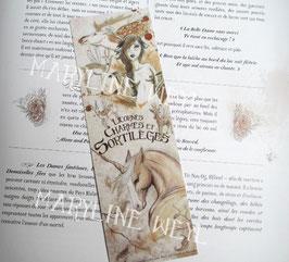 """marque page """"licornes et fée cerf"""""""