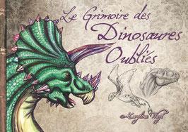 """""""le grimoire des """"dinosaures oubliés"""" livre"""