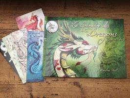 """univers lot """"le grimoire des dragons, voyage en Asie"""" livre fantastique"""