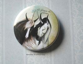 badge broche licornes