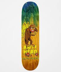 """Deck Anti Hero Skateboards Daan Van Der Linden 8.06"""""""
