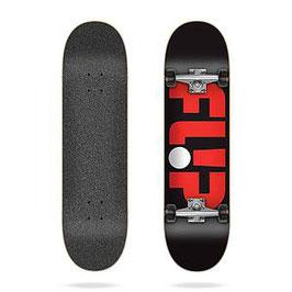 """Complete deck Flip logo black 8"""""""