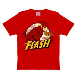 T-shirt Kids DC - Flash The Fastest Man Alive