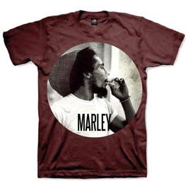 T-shirt Bob Marley - Smoking Circle