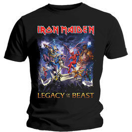 T-shirt Iron Maiden - Legacy of the Beast