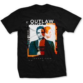 T-shirt Johnny Cash - Outlaw