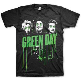 T-shirt Green Day - Drips