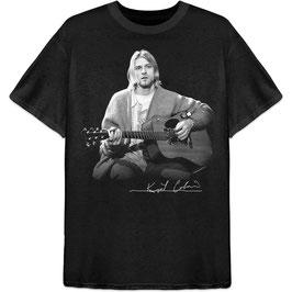 T-shirt Kurt Cobain met gitaar