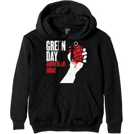 Hooded Sweater Green Day - American Idiot