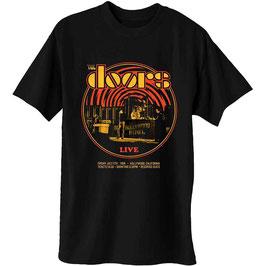 T-shirt The Doors - Live 1968