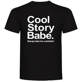T-shirt Cool Story Babe