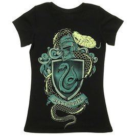 T-shirt Vrouwen Harry Potter - Slytherin
