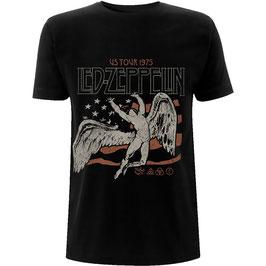 T-shirt Led Zeppelin - US 1975