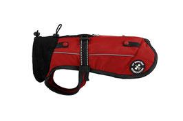 Hundejacke Softshell - MINI Variante, geschlossener Rücken mit Leinenring, Größe 2XS
