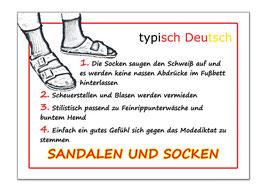sandalen & socken