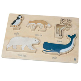 Holzpuzzle Arctic Animal