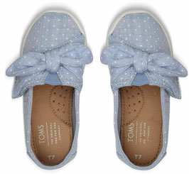 TOMS Kids Light Bliss Blue Dots