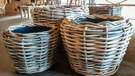 Drypot Pflanzkübel Rattan