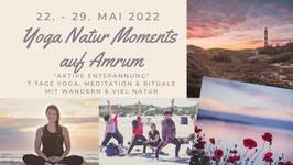 Yoga Nature Moments Mai 2022 auf Amrum