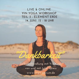 14. Juni Yin Yoga Workshop - Teil 3