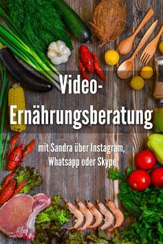 Video-Ernährungsberatung (je Einheit, kein Stundenpreis)