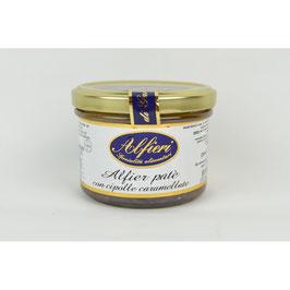 2 Vasetti di Alfier Patè con cipolle caramellate 180 gr.