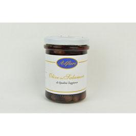 3 Vasetti di Olive Taggiasche in Salamoia 180 gr.
