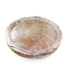 Torta di meliga con crema di gianduja 500 gr.